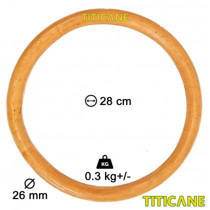 TITICANE Wingchun Ring [ Rattan / Rotan ]