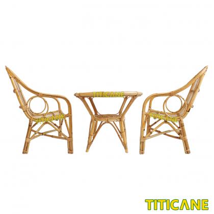 TITICANE Camel Chair [ Kerusi Rotan] [ Rattan Mantang ]