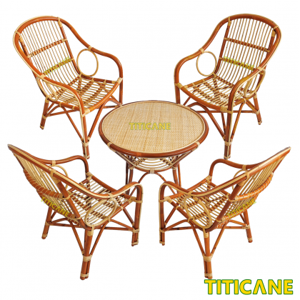 TITICANE Camel Chair [ Kerusi Rotan ] [ Rattan Dahan ]