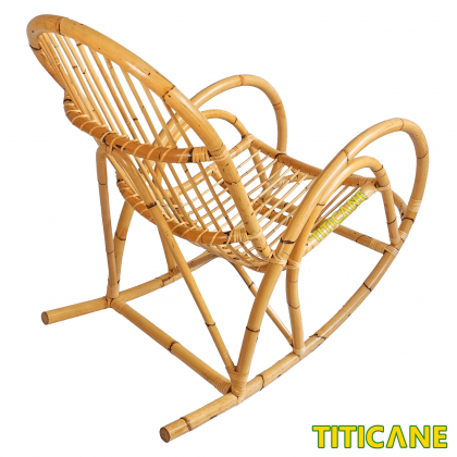 TITICANE Rocking Chair [ Classic ] [ Kerusi Rotan ] [ Rattan Manau ]