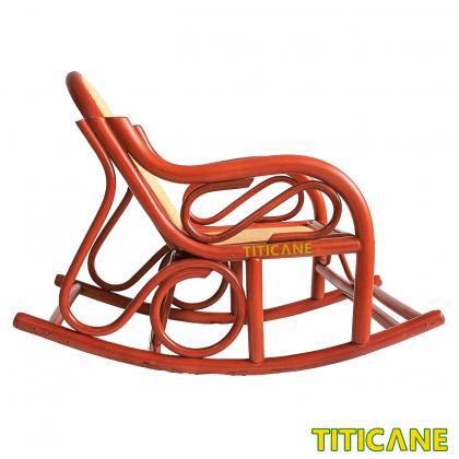 TITICANE Children Chia Rocking Chair [ Kerusi Rotan ] [ Rattan Manau ]