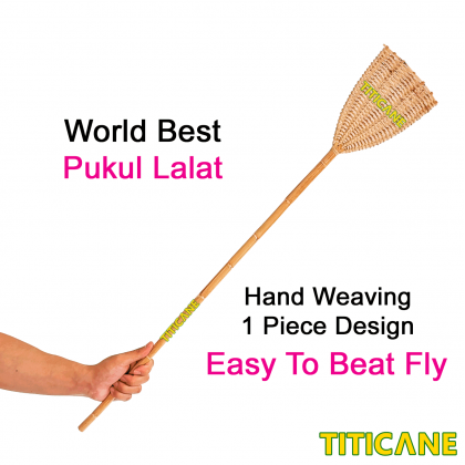 TITICANE Fly Swatter / Pukul Lalat [ Sega 1st Quality ] [ Rattan / Rotan ]