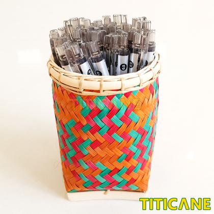 TITICANE Takinan Sabah Pen Holder [ Rattan / Rotan ]
