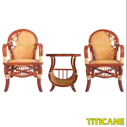 TITICANE Decor Rattan Table [ Meja Rotan ]