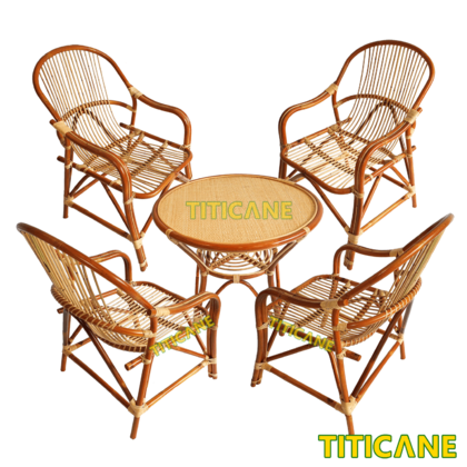 TITICANE Ming Chair [ Kerusi Rotan ] [ Rattan Dahan ]