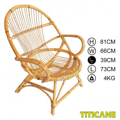 TITICANE Nest Chair [ Kerusi Rotan ] [ Rattan Mantang ]