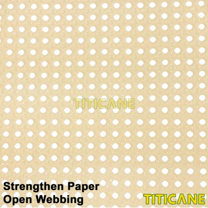 TITICANE Strengthen Paper Open Webbing [ 24 inch ] [ 2 Feet Per Unit ]
