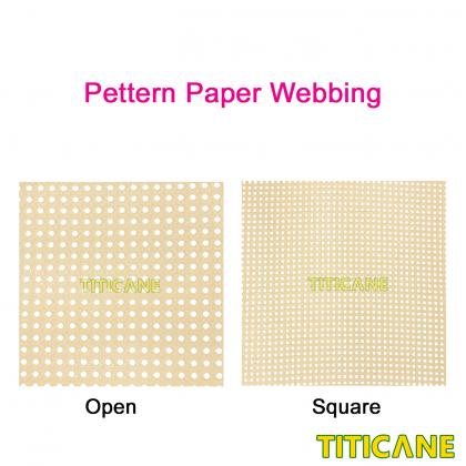 TITICANE Strengthen Paper Square Webbing [ 36 inch ] [ 3 Feet Per Unit ]
